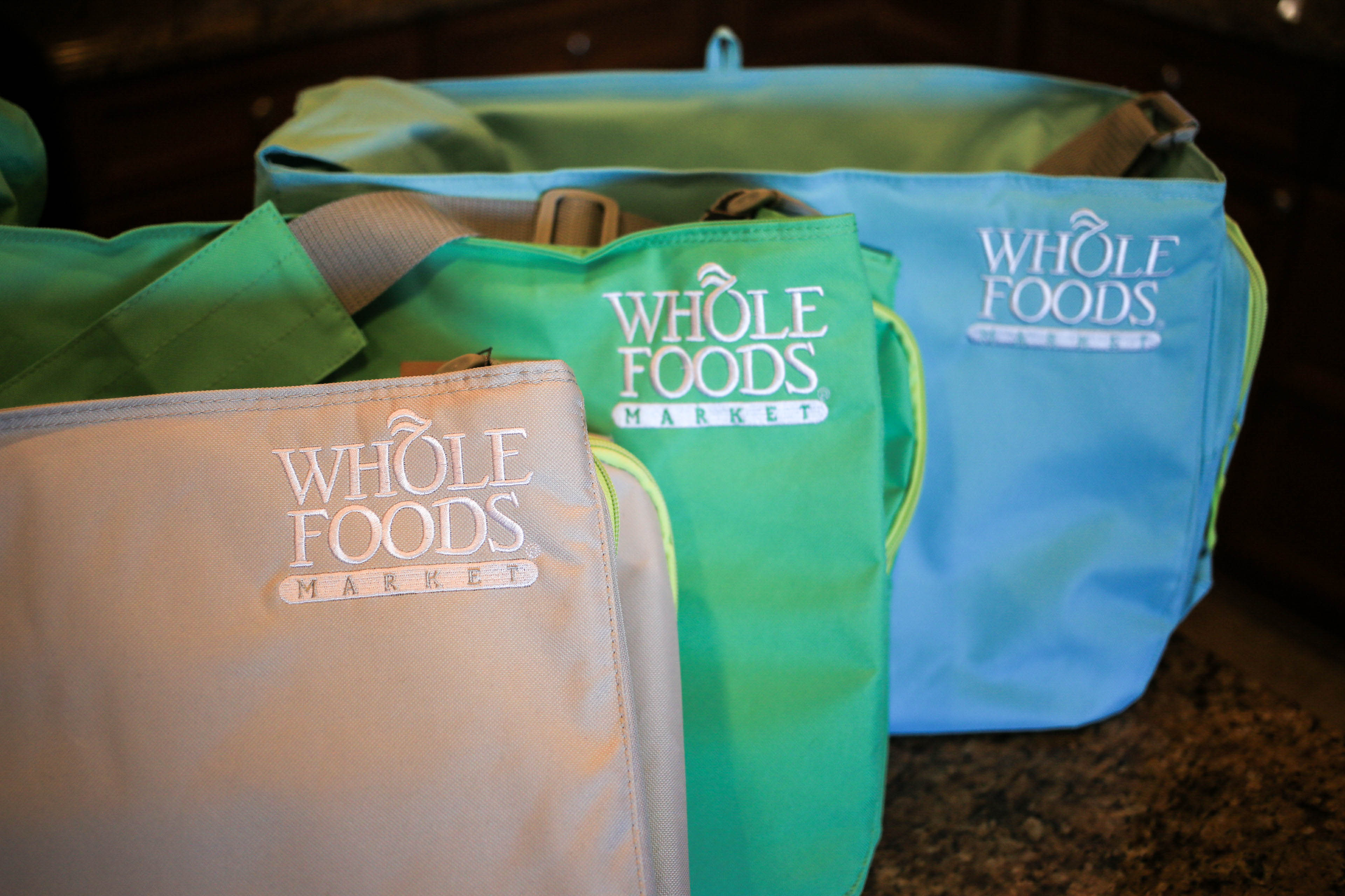 Whole Foods Insulated Messenger Bag