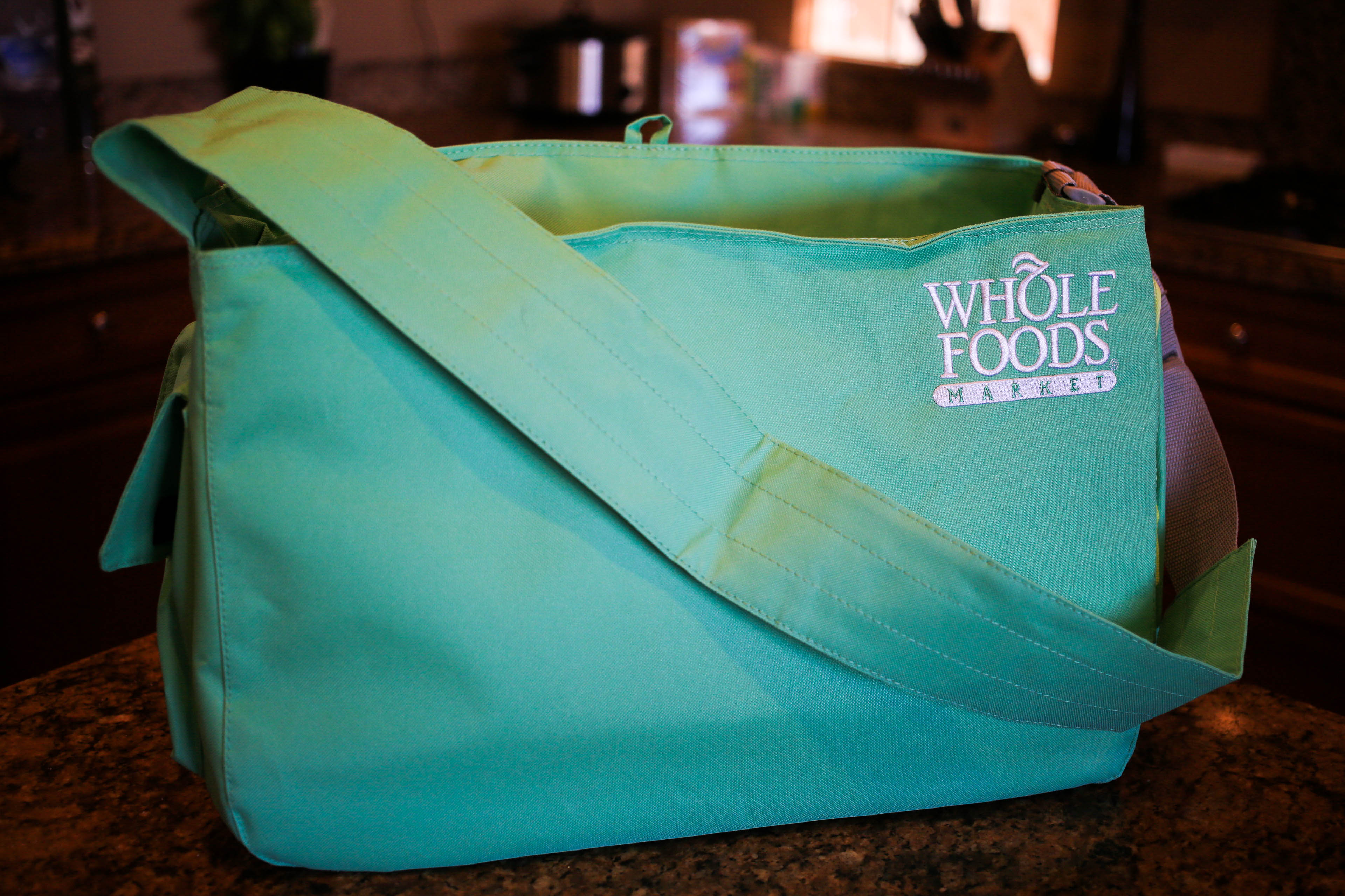 Whole Foods Market Insulated Messenger Bag